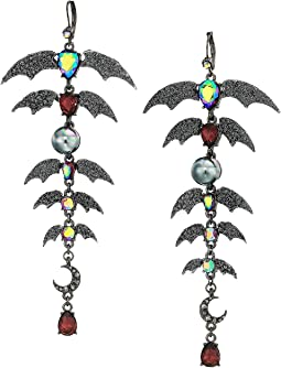 Bat Chandelier Earrings