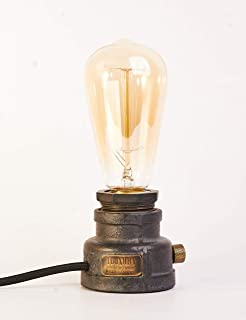 Essential Retro Industrial Table Lamp – Vintage Style - Free Bulb Included