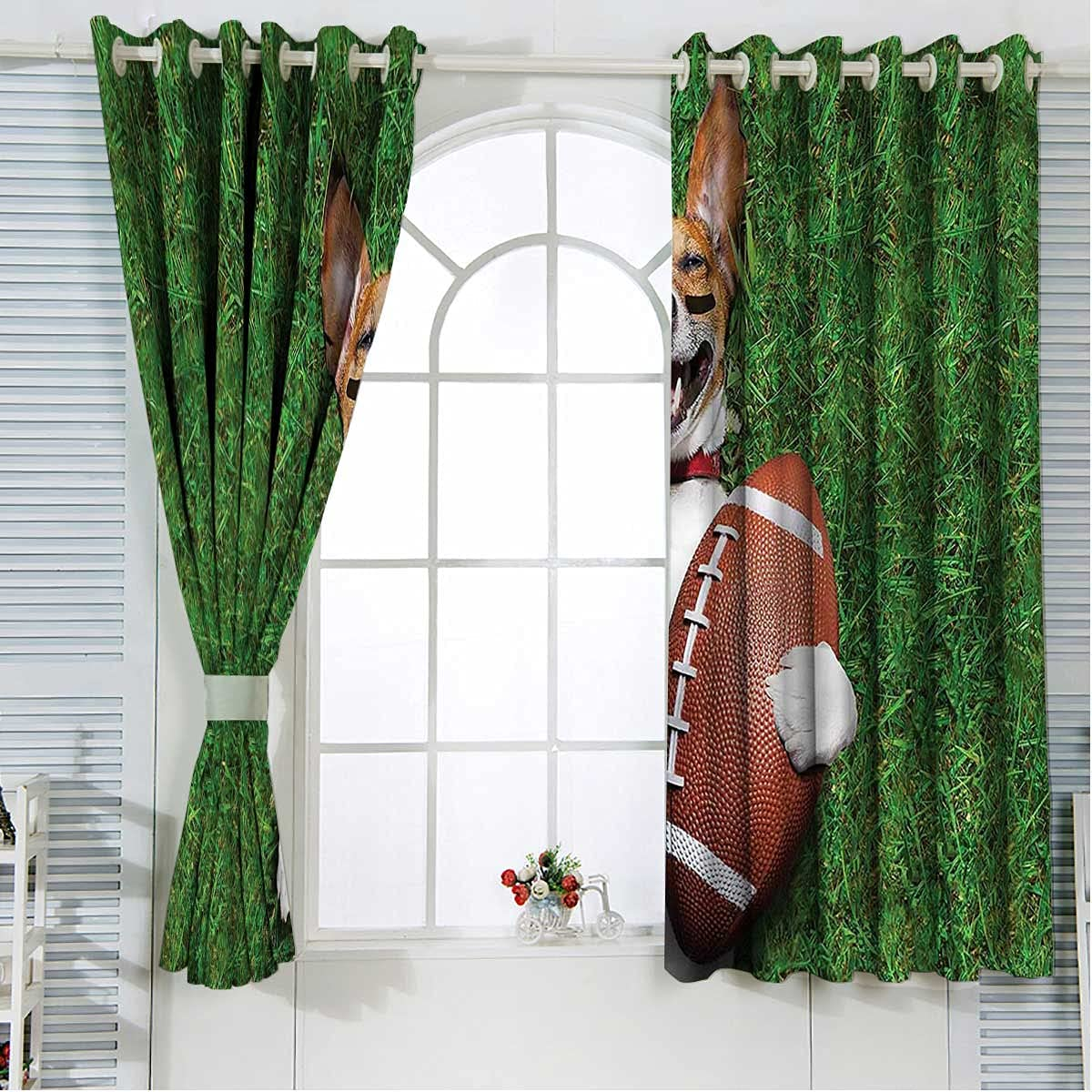 Sports Shipping included Black Curtains Limited price for Bedroom 108 a Length Holding Inch Dog