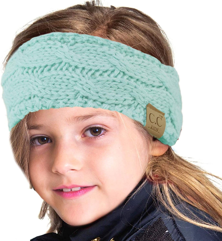 Let it Snow Ear Warmer Winter Wear Gifts for Kids Crown Earwarmer Christmas Hat Crown Headband Frozen Winter Wonderland Headband