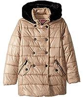 Theodora Double Breasted Puffer Jacket (Little Kids/Big Kids)