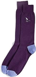 Men's Embroidered Skater Socks