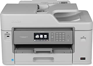 Brother MFC-J5830DW All-in-One Color Inkjet Printer, Wireless Connectivity, Automatic Duplex Printing, Amazon Dash Repleni...