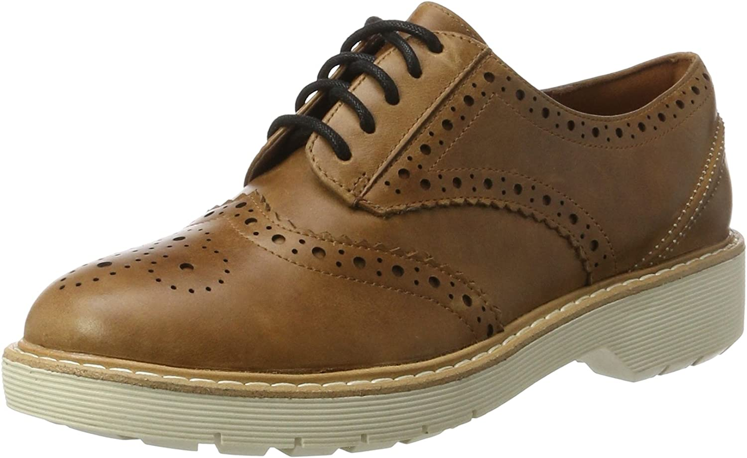 Clarks Witcombe Echo - Tan Nubuck (Brown) Womens shoes