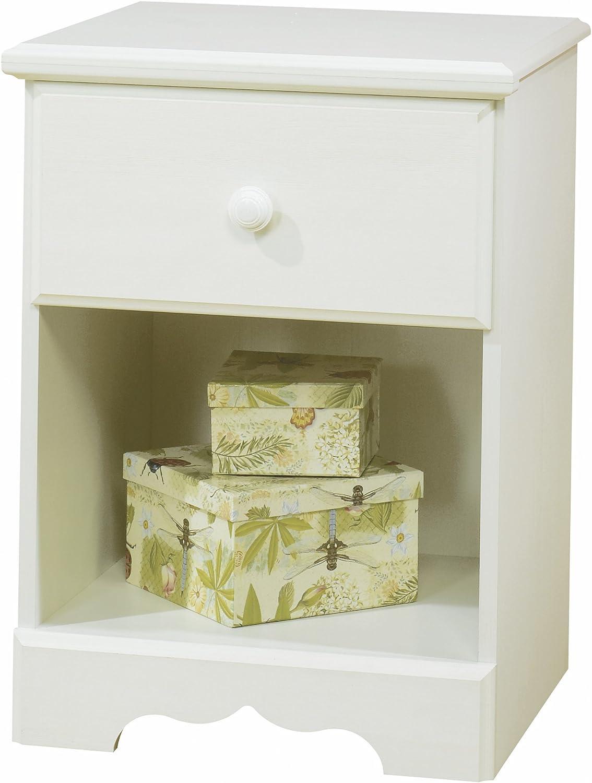 South Shore Furniture, Summer Breeze Collection, Night Table, Vanilla Cream