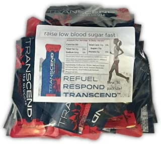 Strawberry Glucose Gels, 36CT by Transcend