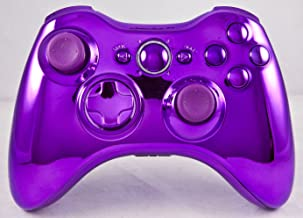 Chrome Purple Xbox 360 Modded Controller (Rapid Fire) COD Ghosts, MW3, Black Ops 2, MW2, MOD GAMEPAD