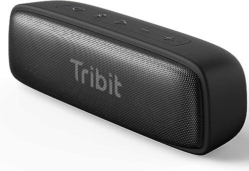 Altavoz Bluetooth Tribit XSound Surf, Altavoces de 12 W Inalámbricos Bluetooth con un Sonido Superior, Bluetooth 5, I...