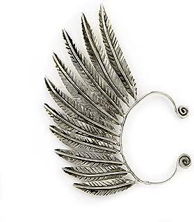 Handmade Feather Ear Wrap Ear Cuff Earrings