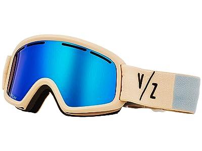 VonZipper Trike Goggle (Bone Satin/Wild Sky Chrome) Goggles