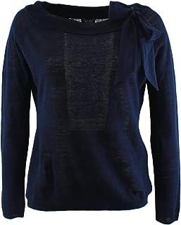 Top Donna Maglia Armani Maglia Jeans Top Donna cR35j4LqSA