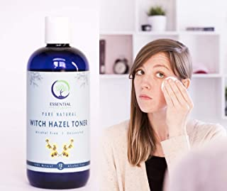 American Made Alcohol Free Witch Hazel Toner - Unscented (12 Ounces)