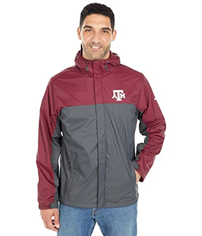 Columbia College Texas AM Aggies Glennaker Stormtm Jacket (Deep Maroon/Dark Grey) Men