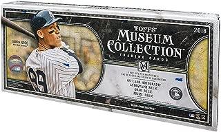 2018 Topps Museum Collection MLB Baseball box (4 pk)