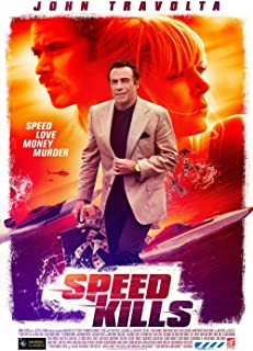 skyhighprint - Speed Kills Art Print Reproduction Movie Poster 28'' X 18''