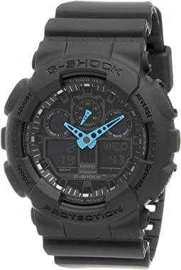 G-Shock GA-100 Neon Highlights