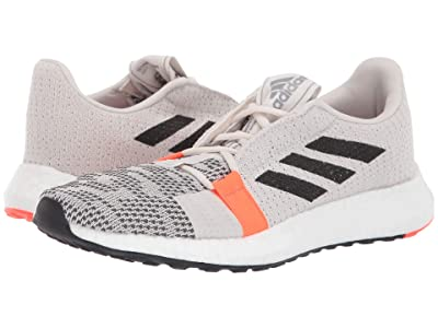 adidas Running SenseBOOST GO (Raw White/Core Black/Solar Red) Women