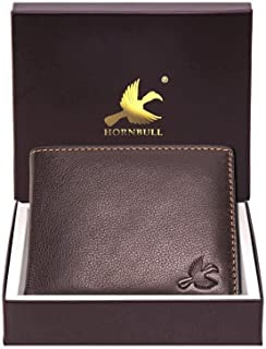 HORNBULL Maddison Men's Brown Genuine Leather Wallet