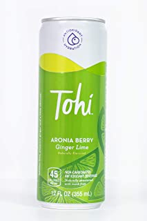 Sponsored Ad - Tohi Aronia Berry Antioxidant Beverage - Ginger Lime Flavor | Natural & Wellness drink w/ immunity & gut he...