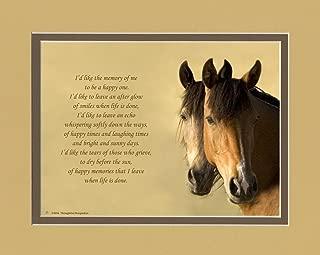 loss of horse sympathy poem
