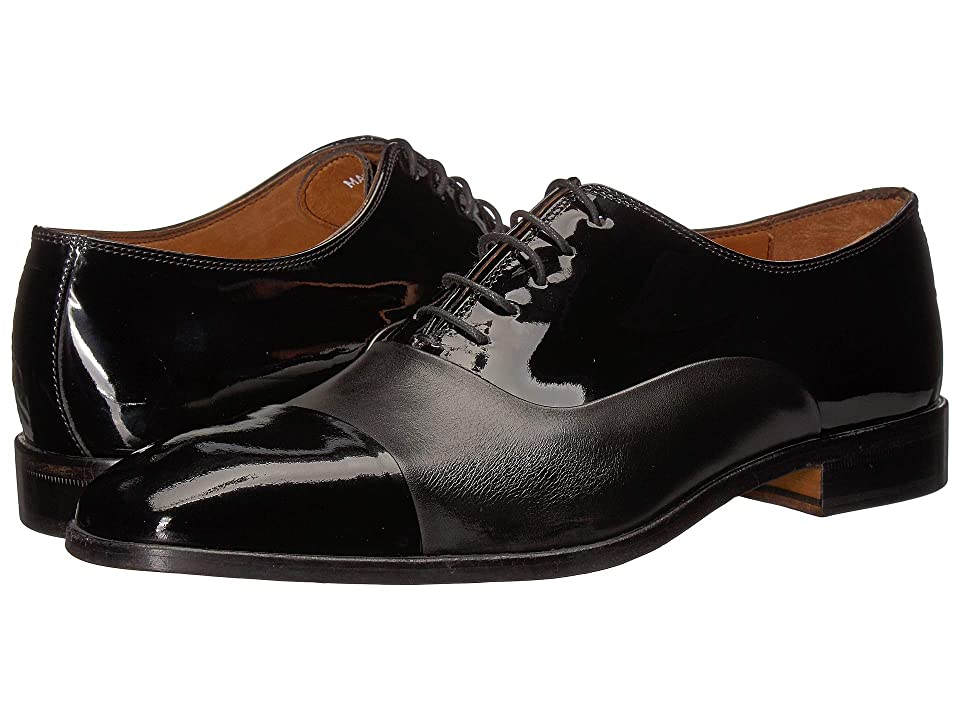 Massimo Matteo Patent Formal Bal (Patent/Matte Black) Men