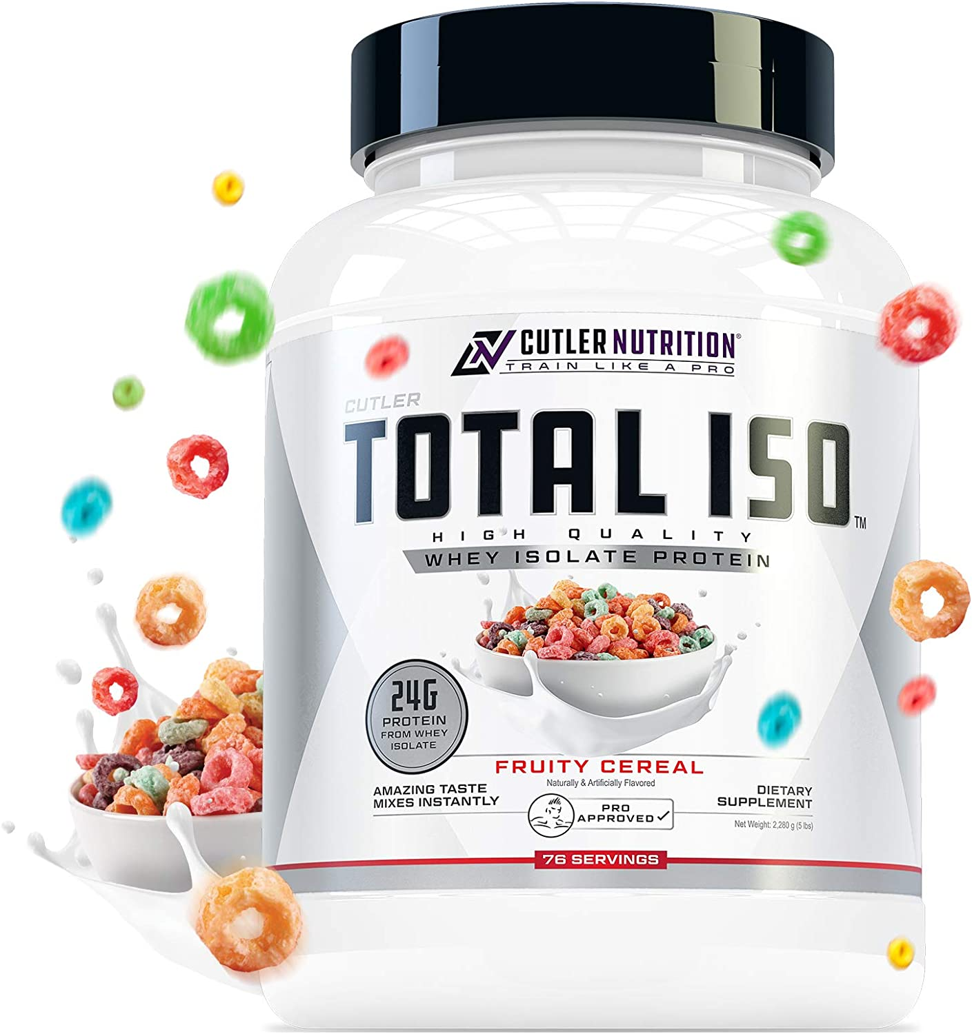 Total 未使用品 ISO Whey Isolate Protein Powder: 販売実績No.1 Best Tasting