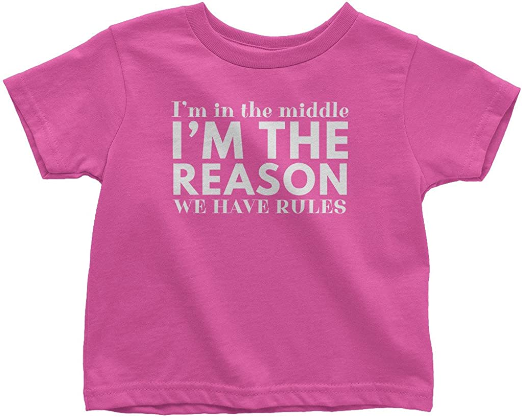 Mixtbrand Little Boys' 5% OFF I'm in The To Have OFFicial shop Middle Rules Reason We