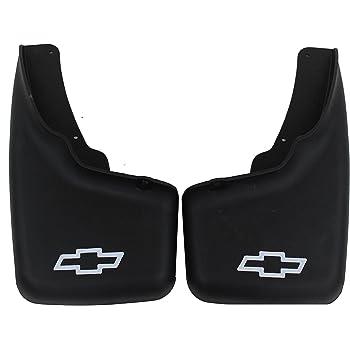 GM Accessories 12498342 Rear Molded Splash Guards in Black