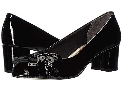 Walking Cradles Juneau (Black Patent Leather) High Heels