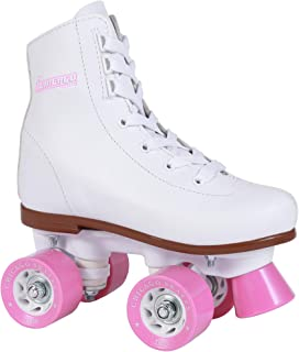 Best Chicago Girls Rink Roller Skate - White Youth Quad Skates Review