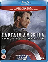 Captain America: The First Avenger (3D Blu-ray + Blu-ray)