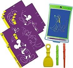 Boogie Board Disney Favorites Magic Sketch | Kids Tablet, 4 Stylus, Stencils of Mickey, Frozen, Cinderella, Lion King & More