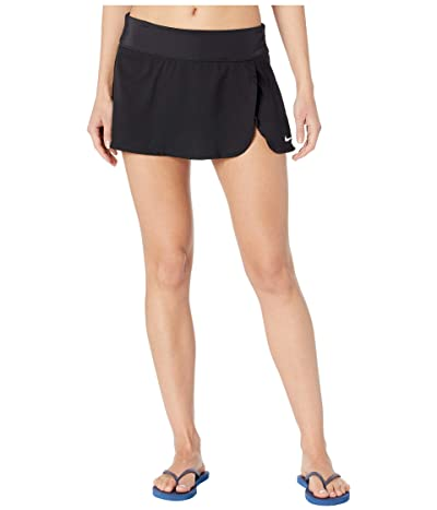 Nike Solid Element Swim Boardskirt (Black) Women