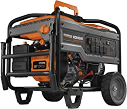 Generac 6826 XC8000E 8,000 Running Watts/10,000 Starting Watts Electric Start Gas Powered Portable Generator - CSA Compliant