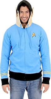 I Am Spock Adult Light Blue Costume Hoodie