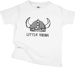 The Spunky Stork Little Viking Infant Organic Cotton Toddler T Shirt