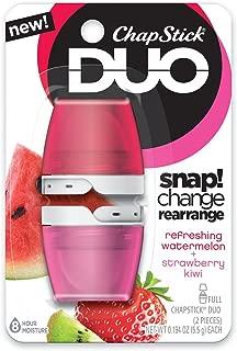 Chapstick Duo Kiwi Blister Card, Watermelon/Strawberry Kiwi, 0.194 Oz