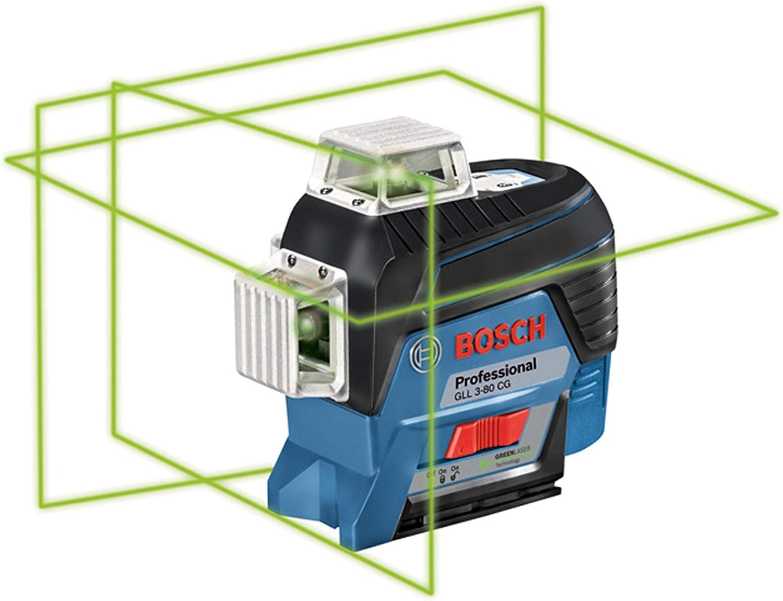 充電と乾電池に対応|ボッシュ レーザー墨出し器 GLL3-80CG