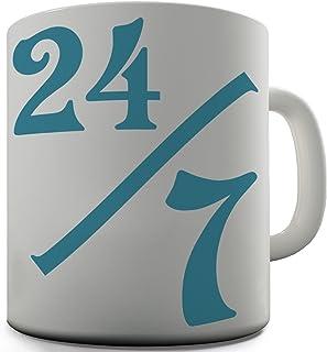 Trenzado Envy 24siete cerámica taza divertida