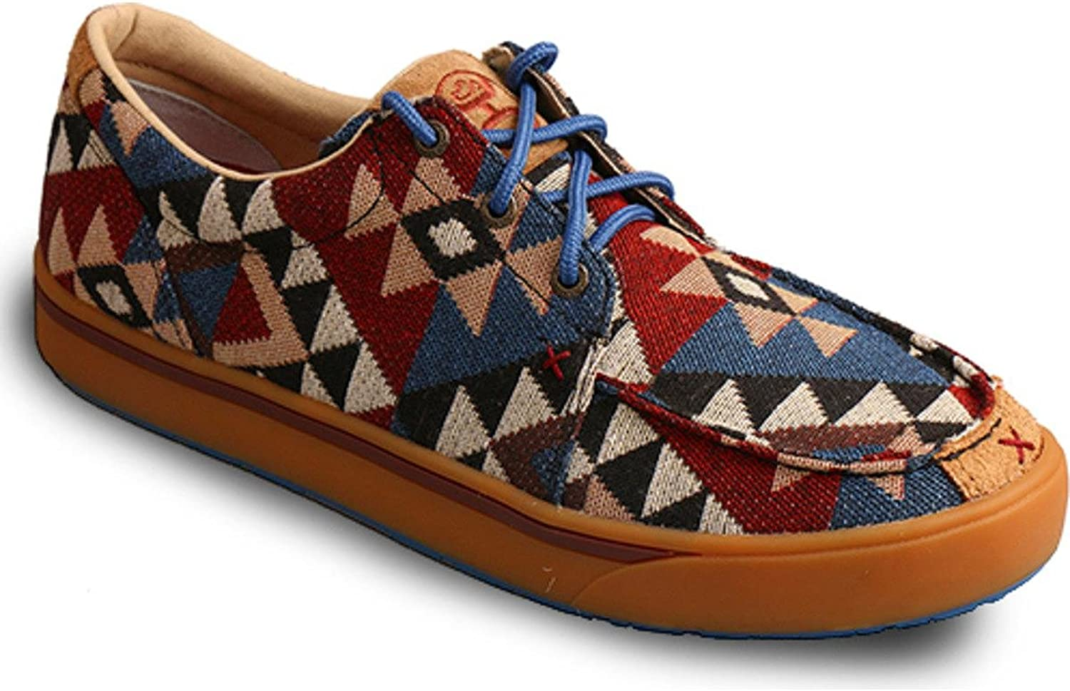 Twisted X Boots Mens Hooey Aztec Canvas Casual shoes
