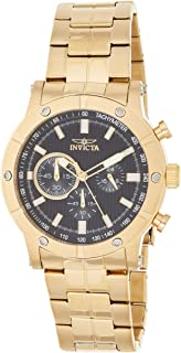 Invicta Men's 18163 Specialty Analog Display Japanese Quartz Gold Watch