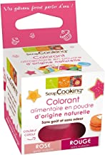 Red-pink natural food colouring
