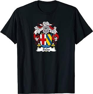 Salas Coat of Arms - Family Crest Shirt