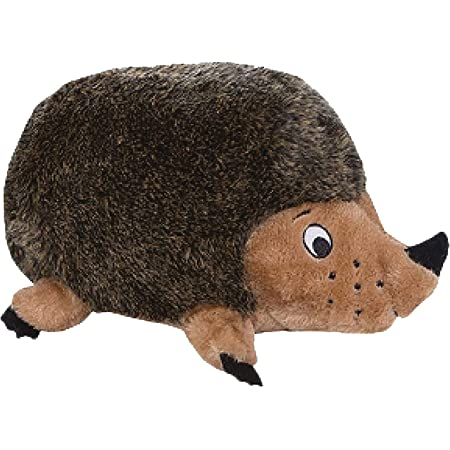 Outward Hound Hedgehogz Squeaky Dog Toy – Cuddly Soft Toy for Dogs - Durable Plush Fluffy Toy for Awesome Pets