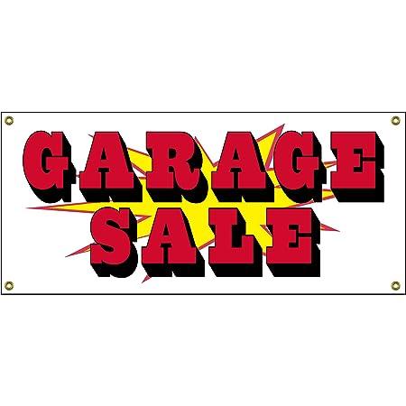 Neighborhood Garage Sale 2x5 Banner Sign