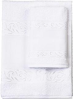 Red – Juego de toallas de mano con invitados, 100% rizo de