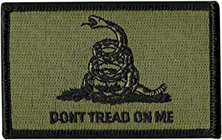 Don't Tread on Me Tactical Patch Military Morale Patch (Green)