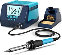 Soldering Iron Station, BAKON 90W Solder Station with Smart Temperature Control (362°F-896°F), Auto Standby & Sleep, Passw...
