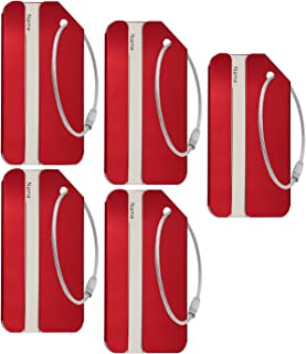 Best aluminum luggage tags Reviews