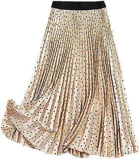 93ecd1a69 Amazon.es: faldas largas fiesta - Beige